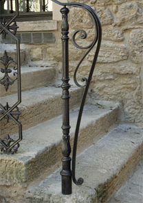 top posts and balusters