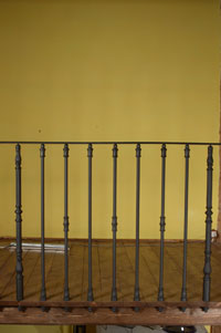 Different balustrade combinations