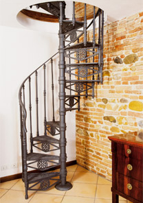 Spiral staircases