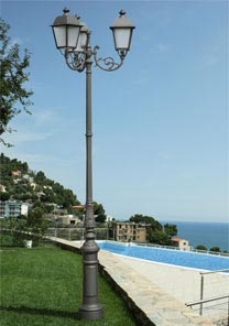 Modus illuminazione illuminazione illuminazione per esterni illuminazione per giardino - Pali illuminazione da giardino ...
